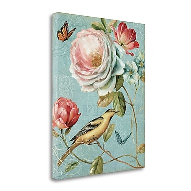 Tangletown Fine Art 'Spring Romance II' Print on Canvas; 32'' H x 26'' W