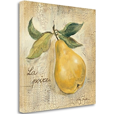 Tangletown Fine Art 'La Poire' Print on Wrapped Canvas; 20'' H x 20'' W