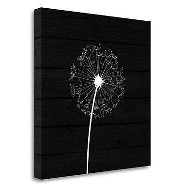 Tangletown Fine Art Dandelion I' Graphic Art Print on Canvas; 20'' H x 20'' W