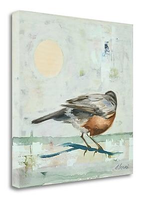 Tangletown Fine Art 'Robin' Print on Canvas; 23'' H x 23'' W