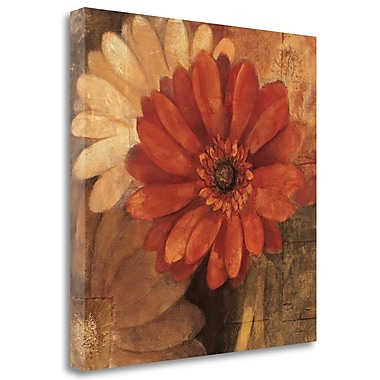 Tangletown Fine Art 'Bold Gerberas III' Print on Wrapped Canvas; 25'' H x 25'' W