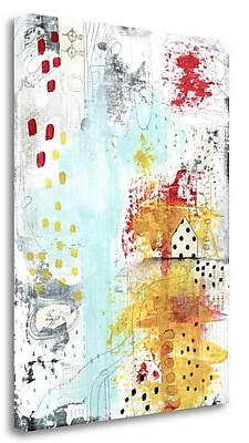 Tangletown Fine Art 'From Hot To Cold' Graphic Art Print on Canvas; 29'' H x 21'' W