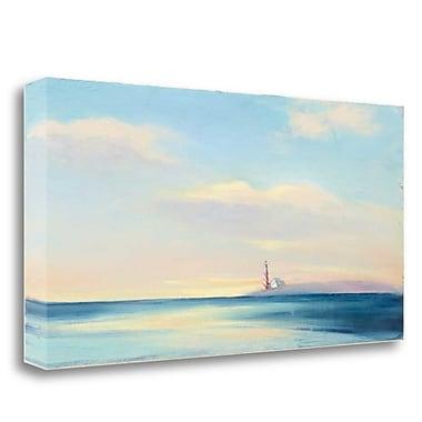 Tangletown Fine Art 'Dawn Beacon' Print on Wrapped Canvas; 20'' H x 39'' W