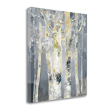 Tangletown Fine Art 'Forest at Dusk' Print on Canvas; 20'' H x 18'' W