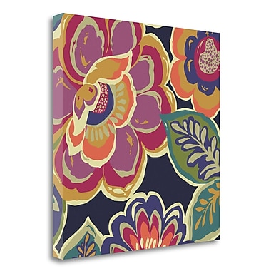 Tangletown Fine Art 'Floral Assortment Square I' Print on Wrapped Canvas; 24'' H x 24'' W