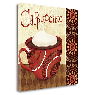 Tangletown Fine Art 'Cup of Joe II' Graphic Art Print on Wrapped Canvas; 20'' H x 20'' W