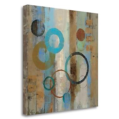 Tangletown Fine Art 'Bubble Graffiti I' Print on Wrapped Canvas; 30'' H x 30'' W