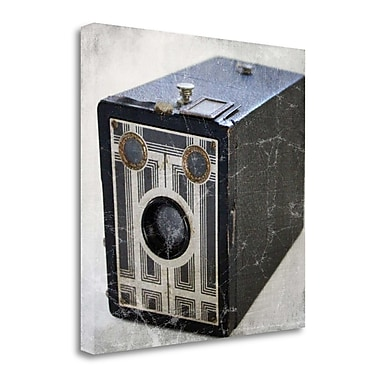 Tangletown Fine Art 'Brownie Junior II' Photographic Print on Wrapped Canvas; 24'' H x 24'' W