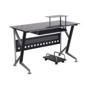 Latitude Run Ferrisburgh 45.25'' W x 28.5'' D Desk Drawer w/ Pull-out Keyboard Tray and CPU Cart