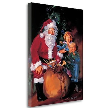 Tangletown Fine Art 'Christmas Eve Wonder' Print on Wrapped Canvas; 26'' H x 20'' W