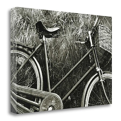 Tangletown Fine Art 'Bike I' Photographic Print on Wrapped Canvas; 20'' H x 30'' W