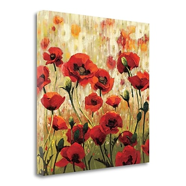 Tangletown Fine Art 'Sunny Spring Glee' Print on Wrapped Canvas; 30'' H x 30'' W