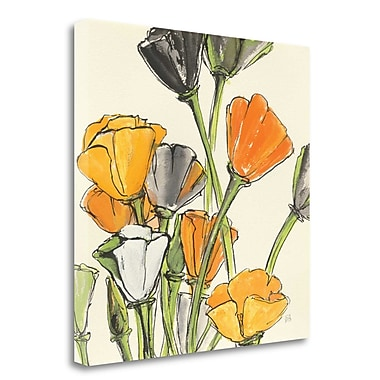 Tangletown Fine Art 'Wild Bouquet II' Print on Wrapped Canvas; 24'' H x 24'' W