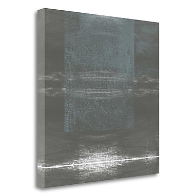 Tangletown Fine Art 'Concrete II' Graphic Art Print on Wrapped Canvas; 24'' H x 24'' W