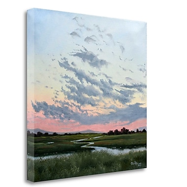 Tangletown Fine Art 'Days End to Tranquility' Print on Wrapped Canvas; 30'' H x 30'' W