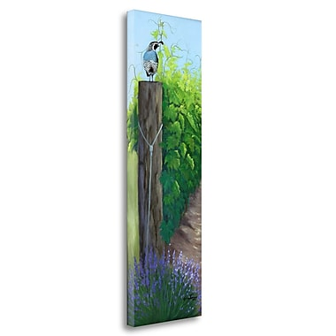 Tangletown Fine Art 'On Top' Print on Wrapped Canvas; 39'' H x 12'' W