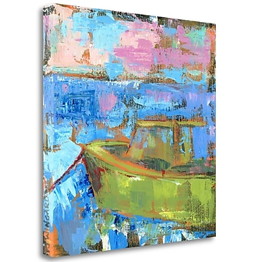 Tangletown Fine Art 'My Place on the Water' Print on Canvas; 18'' H x 18'' W