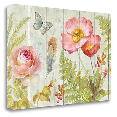 Tangletown Fine Art 'Natural Flora V' Print on Canvas; 32'' H x 48'' W