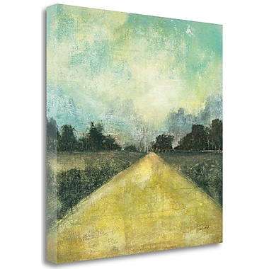 Tangletown Fine Art 'This Place III' Painting Print on Canvas; 18'' H x 18'' W