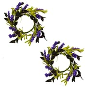 August Grove Herb Ring Wreath (Set of 2)