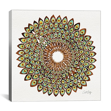 Bungalow Rose Graphic Art on Wrapped Canvas; 18'' H x 18'' W x 1.5'' D