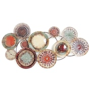 Bungalow Rose Multi-Colored Circles Wall Decor