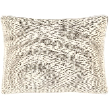 Bungalow Rose Grosvenor Down Lumbar Pillow; Ivory/Ivory
