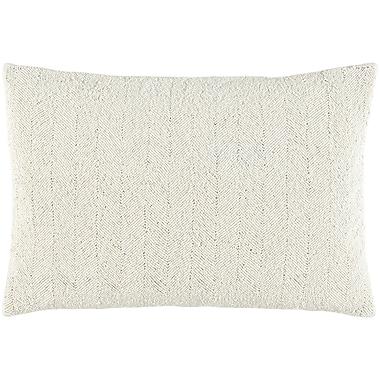 Bungalow Rose Harbor Cotton Lumbar Pillow; Light Gray