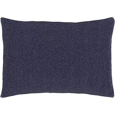 Bungalow Rose Gore Cotton Lumbar Pillow; Violet