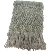 World Menagerie Keeler Woven Throw Blanket; Meadow