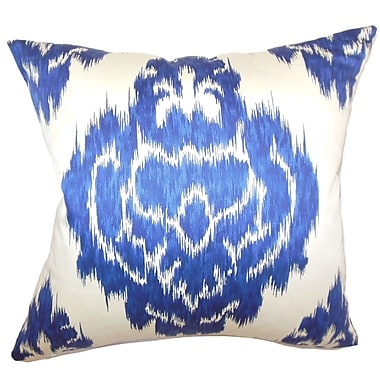 Bungalow Rose Maroc Ikat Cotton Throw Pillow; 18'' H x 18'' W