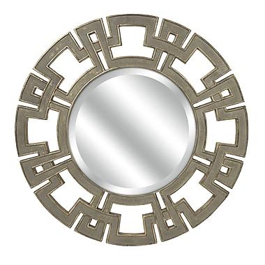 Bungalow Rose Wapan Round Wall Mirror