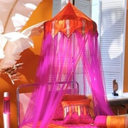 Bungalow Rose Larbi Bed Canopy by