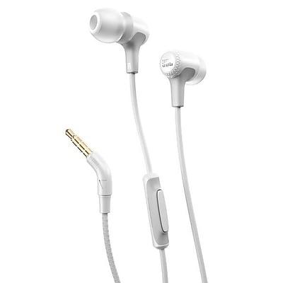 JBL E15 Earbuds, White (JBLE15WHT)