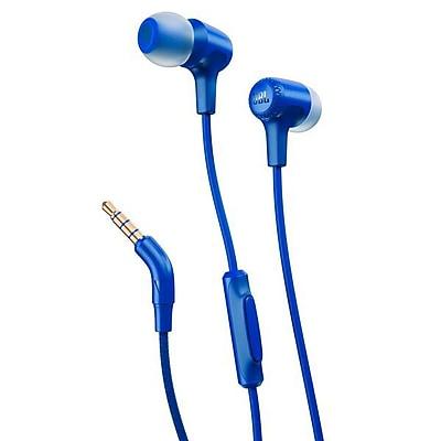 JBL E15 Earbuds, Blue (JBLE15BLU)
