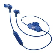 JBL E25 Bluetooth Earbuds Blue