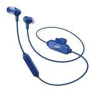 JBL E25 Bluetooth Earbuds, Blue (JBLE25BTBLU)