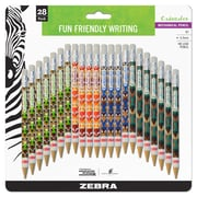 Zebra Pen Cadoozles Mechanical Pencil, 0.9mm Medium Point, Assorted 28pk