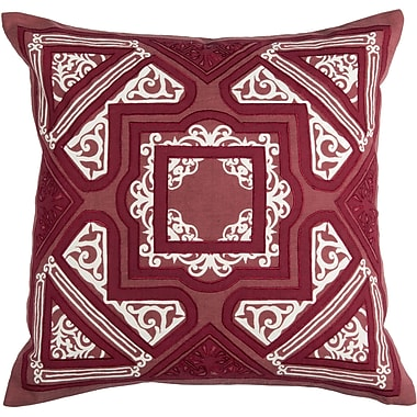Bungalow Rose Elyseum Throw Pillow; Spice