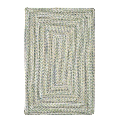 Bungalow Rose Huntington Hand-Woven Green/Gold Area Rug; Runner 2' x 6'