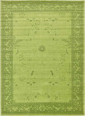 Bungalow Rose Imperial Light Green Area Rug; 13' x 18'