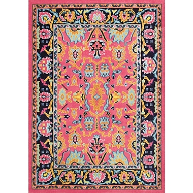 Bungalow Rose Hooda Pink Area Rug; 5' x 8'