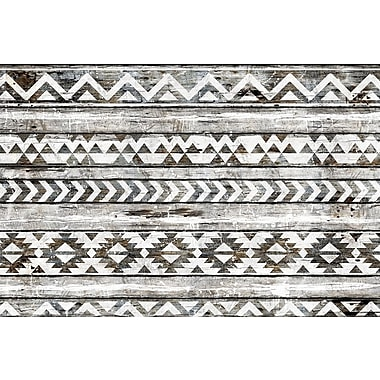 World Menagerie 'Navajo Pattern' Graphic Art on Wrapped Canvas; 26'' H x 40'' W x 0.75'' D