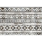 World Menagerie 'Navajo Pattern' Graphic Art on Wrapped Canvas; 12'' H x 18'' W x 1.5'' D