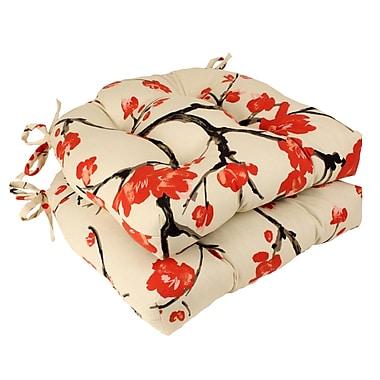 Bungalow Rose Austin Chair Cushion (Set of 2)