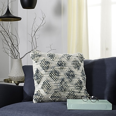 Bungalow Rose Saint-Roch Space Dyed Throw Pillow