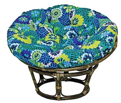 Bungalow Rose Benahid Papasan Chair; Alenia Pompeii