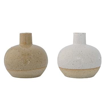 Bungalow Rose Josephina Ceramic Table Vase (Set of 2)
