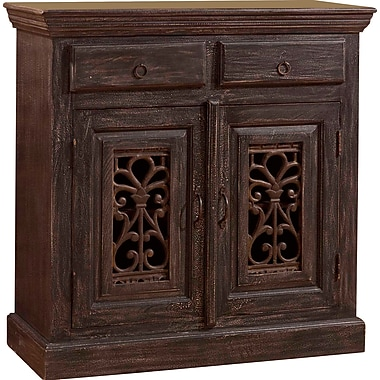 Bungalow Rose Motyka 2 Drawers And 2 Doors Accent Cabinet
