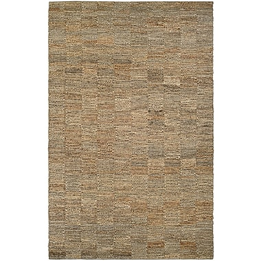 Bungalow Rose Gilles Hand-Crafted Natural Area Rug; 3'5'' x 5'5''